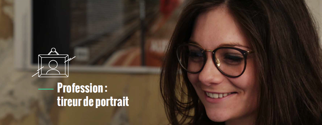 Marion, profession : tireur de portrait